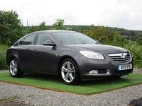 USED 2011 11 VAUXHALL INSIGNIA 2.0 SRI NAV CDTI 5d AUTO 158 BHP