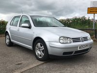 USED 2003 53 VOLKSWAGEN GOLF 1.6 MATCH 5d 103 BHP PART EXCHANGE TO CLEAR