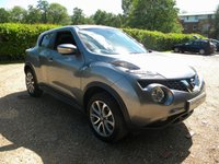 USED 2015 64 NISSAN JUKE 1.2 TEKNA DIG-T 5d 115 BHP Full Leather Seats, SatNav, Bluetooth.
