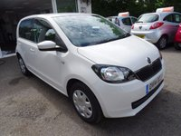 USED 2014 14 SKODA CITIGO 1.0 SE 12V 5d 59 BHP Skoda Service History + Just Serviced by ourselves, One Owner from new, NEW MOT (to be completed), Excellent on fuel! Only £20 Road Tax! Lowest Insurance Group!