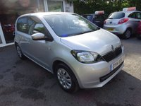 USED 2014 14 SKODA CITIGO 1.0 SE 12V 5d 59 BHP Full Service History (Skoda + ourselves) One Owner from new, NEW MOT (to be completed), Excellent on fuel! Only £20 Road Tax! Lowest Insurance Group!