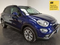 USED 2016 16 FIAT 500X 1.4 MULTIAIR CROSS DDCT 5d AUTO 140 BHP FSH-1 YEAR OLD-HATCHBACK-LEATHER