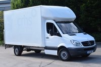 USED 2011 11 MERCEDES-BENZ SPRINTER 2.1 313 CDI LWB 2d 129 BHP RWD DIESEL MANUAL BOX VAN WITH TAIL LIFT TWO OWNERS, SPARE KEY