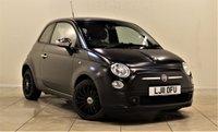 USED 2011 11 FIAT 500 0.9 MATT BLACK 3d 85 BHP + 2 PREV OWNERS + FULL SERVICE HISTORY + MATT BLACK