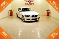 USED 2014 14 BMW 1 SERIES 2.0 120D M SPORT 3d 181 BHP BEST COLOR ALPINE WHITE + 181 BHP
