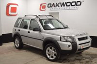USED 2005 55 LAND ROVER FREELANDER 2.0 TD4 HSE STATION WAGON 5d 110 BHP FULL BLACK LEATHER