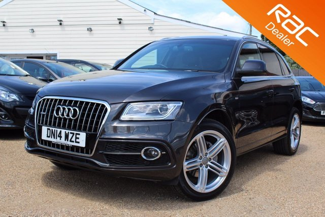 View our 2014 14 AUDI Q5 2.0 TDI QUATTRO S LINE PLUS 5d 175 BHP