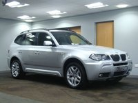 USED 2007 57 BMW X3 2.0 D M SPORT 5d 148 BHP