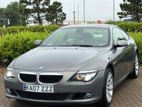 2008 BMW 6 SERIES 3.0 635D SPORT 2d AUTO 282 BHP £11995.00