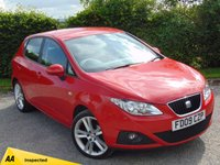 USED 2009 09 SEAT IBIZA 1.4 SPORT 5d MAIN DEALER SERVICE HISTORY & 128 POINT AA INSPECTED