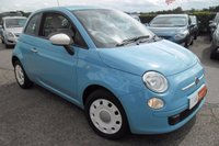 2014 FIAT 500 1.2 COLOUR THERAPY 3d 69 BHP £6000.00