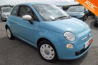 USED 2014 14 FIAT 500 1.2 COLOUR THERAPY 3d 69 BHP 15,000 MILES