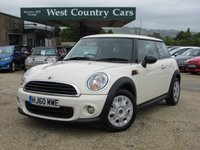 USED 2010 60 MINI HATCH FIRST 1.6 FIRST 3d 75 BHP Rare Mini First With Air Conditioning