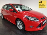 USED 2013 63 FORD FOCUS 1.6 ZETEC S TDCI 5d 113 BHP FSH-1 OWNER-LOW MILEAGE-BLUETOOTH