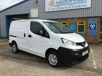 USED 2014 14 NISSAN NV200 1.5 DCI ACENTA 1d 90 BHP VAN. ***FINANCE AVAILABLE ***CALL NOW OR APPLY ONLINE -  MORE IN STOCK!!! PRIVATE PLATE NOT INCLUDED.