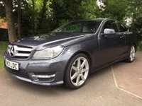 2013 MERCEDES-BENZ C CLASS 2.1 C250 CDI BLUEEFFICIENCY AMG SPORT 2d 204 BHP £14495.00