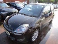 USED 2008 08 FORD FIESTA 1.4 ZETEC BLUE 3d 80 BHP IDEAL 1ST CAR NEW IN