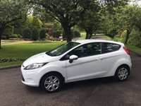 USED 2012 61 FORD FIESTA 1.2 STYLE 3d 59 BHP Low Mileage with History