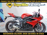 USED 2015 15 TRIUMPH DAYTONA 675 ABS GOOD & BAD CREDIT ACCEPTED, OVER 500+ BIKES