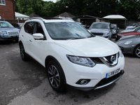 USED 2016 16 NISSAN X-TRAIL 1.6 DCI TEKNA XTRONIC 5d AUTO 7 SEAT 130 BHP AWESOME SPEC !!