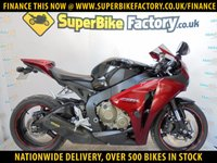 USED 2008 58 HONDA CBR1000RR FIREBLADE RR-8  GOOD & BAD CREDIT ACCEPTED, OVER 500+ BIKES