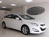 USED 2014 14 HYUNDAI I40 1.7 CRDI ACTIVE BLUE DRIVE 5d 114 BHP In Fantastic Overall Condition With Just One Owner  £30 Tax High MPG
