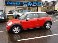 USED 2007 07 MINI HATCH COOPER 1.6 COOPER 3d 118 BHP ONLY 48000 MILES FROM NEW