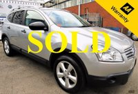 USED 2009 09 NISSAN QASHQAI+2 2.0 VISIA PLUS 2 DCI 5d 148 BHP! p/x welcome! FULL SERVICE HISTORY! PAN ROOF! LOW MILEAGE! 7 SEATS! FULL SERVICE HISTORY! LOW MILEAGE! 7 SEATS! BLUETOOTH PHONE CONNECTIVITY! FULL PANORAMIC ROOF! NEW MOT & PDI REPORT! AA WARRANTY & ROADSIDE COVER!