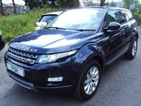 USED 2014 14 LAND ROVER RANGE ROVER EVOQUE 2.2 SD4 PURE TECH 5d AUTO 190BHP 4WD +TECH PACK PHONE+MEDIA+CRUISE+CLIMATE+PARKING+