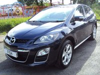 USED 2010 10 MAZDA CX-7 2.2 SPORT TECH D 5d 173BHP 19 INCH ALLOYS+LEATHER+CLIMATE