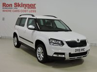 USED 2015 15 SKODA YETI 1.6 OUTDOOR SE GREENLINE II TDI CR 5d 103 BHP