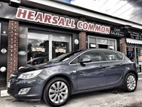 USED 2010 10 VAUXHALL ASTRA 2.0 ELITE CDTI 5d 157 BHP full black leather seating!!!!!