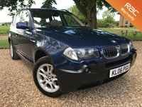 2006 BMW X3 3.0 D SE 5d AUTO 215 BHP £5790.00