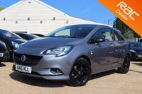 USED 2015 VAUXHALL CORSA 1.0 LIMITED EDITION ECOFLEX S/S 3d 113 BHP reverse camera, cruise control