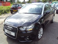 USED 2012 12 AUDI A1 1.6 TDI SPORT 3d 103 BHP TOP SPEC+ZERO ROAD TAX+CLEAN+