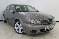 USED 2008 58 JAGUAR X-TYPE 2.2 SE 4DR AUTOMATIC 145 BHP FULL SERVICE HISTORY + HEATED LEATHER SEATS + SAT NAVIGATION + PARKING SENSORS + BLUETOOTH + CRUISE CONTROL
