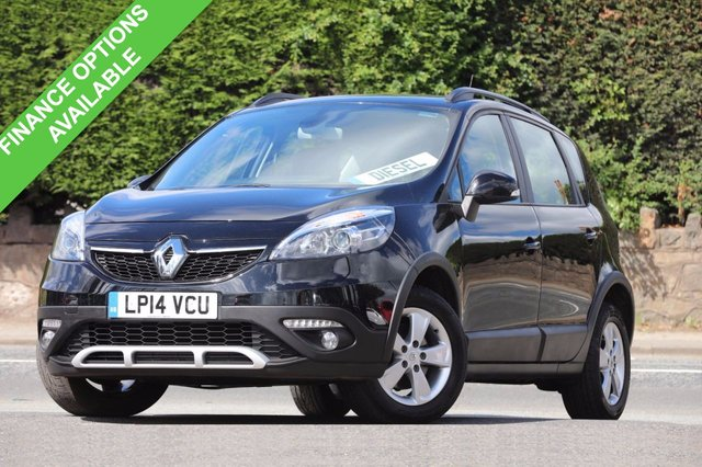 2014 14 RENAULT SCENIC 1.5 XMOD DYNAMIQUE TOMTOM ENERGY DCI S/S 5d 110 BHP