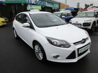 USED 2014 64 FORD FOCUS 1.0 ZETEC 5d 99 BHP JUST ARRIVED TEST DRIVE TODAY