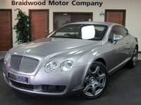 USED 2006 04 BENTLEY CONTINENTAL 6.0 GT 2d AUTO 550 BHP