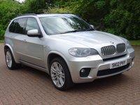 USED 2012 12 BMW X5 3.0 XDRIVE40D M SPORT 5d AUTO 302 BHP 7 SEATER***TWIN TURBO*** 19 INCH ALLOYS***REVERSE ASSIST CAMERA*** SERVICE RECORD