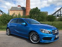 2013 MERCEDES-BENZ A CLASS 1.5 A180 CDI BLUEEFFICIENCY AMG SPORT 5d 109 BHP £15990.00