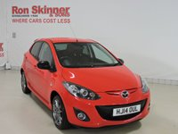 USED 2014 14 MAZDA 2 1.3 SPORT COLOUR EDITION 5d 83 BHP with Satellite Navigation