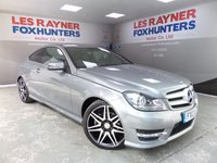 USED 2013 13 MERCEDES-BENZ C CLASS 2.1 C250 CDI BLUEEFFICIENCY AMG SPORT PLUS 2d 202 BHP Full Mercedes service history, Xenon headlights, Sat Nav ,Climate control