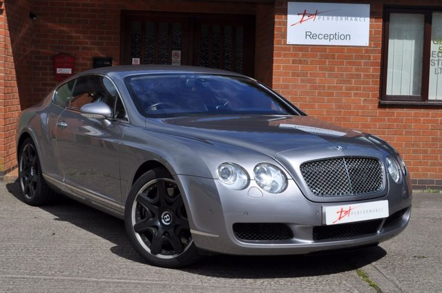 2007 07 BENTLEY CONTINENTAL 6.0 GT 2d AUTO 550 BHP