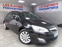 USED 2012 62 VAUXHALL ASTRA 1.6 EXCLUSIV 5d 113 BHP Full Service History , cruise control , air conditioning