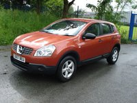 USED 2007 07 NISSAN QASHQAI 1.6 VISIA 5d 113BHP SATNAV NAVIGATION+FSH WITH RECEIPTS+