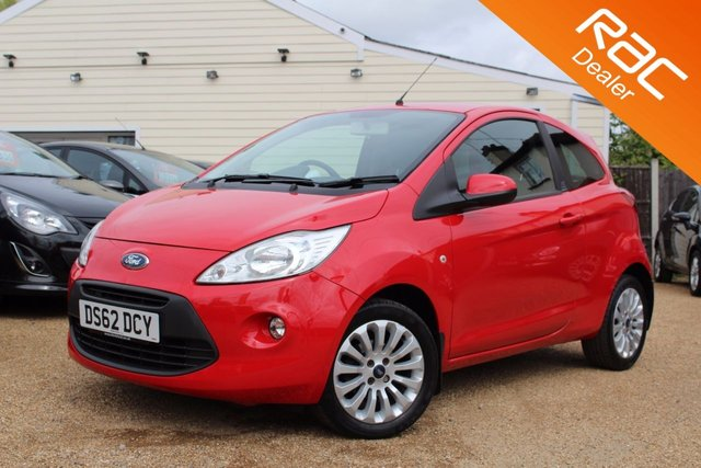 View our 2012 62 FORD KA 1.2 ZETEC 3d 69 BHP