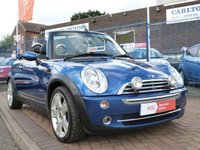 USED 2008 58 MINI CONVERTIBLE 1.6 COOPER 2d 114 BHP CONVERTIBLE