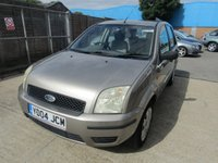 2004 FORD FUSION 1.4 FUSION 2 5d 78 BHP £1995.00