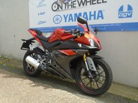 USED 2016 16 YAMAHA YZF-R125 ABS MODEL, FRESH RED, *VERY LOW MILEAGE*